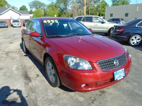 2006 Nissan Altima for sale at DISCOVER AUTO SALES in Racine WI