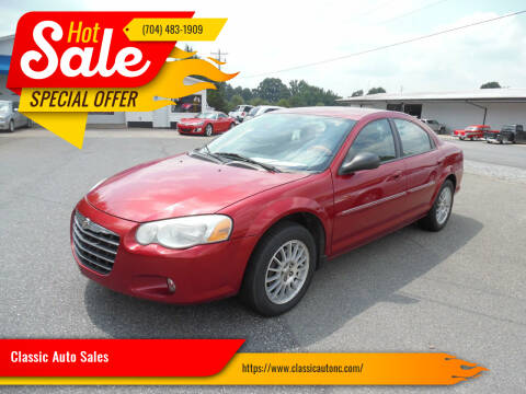 2004 Chrysler Sebring for sale at Classic Auto Sales in Maiden NC