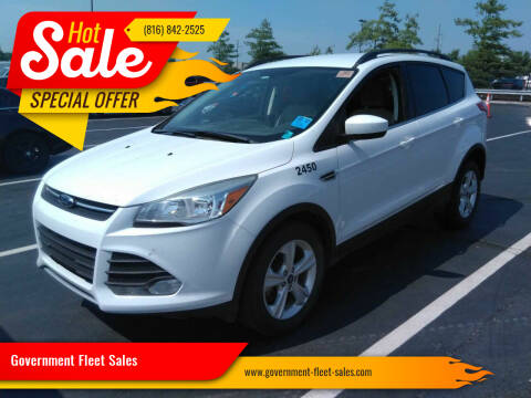 2015 Ford Escape for sale at Government Fleet Sales in Kansas City MO