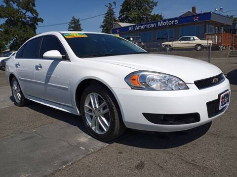 2013 Chevrolet Impala for sale at All American Motors in Tacoma WA
