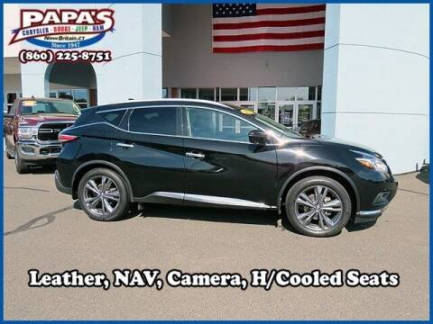 2017 Nissan Murano for sale at Papas Chrysler Dodge Jeep Ram in New Britain CT