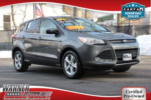 2014 Ford Escape for sale at Warner Motors in East Orange NJ