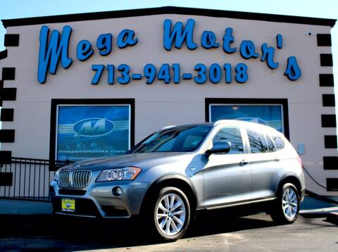 2012 BMW X3 for sale at MEGA MOTORS in South Houston TX