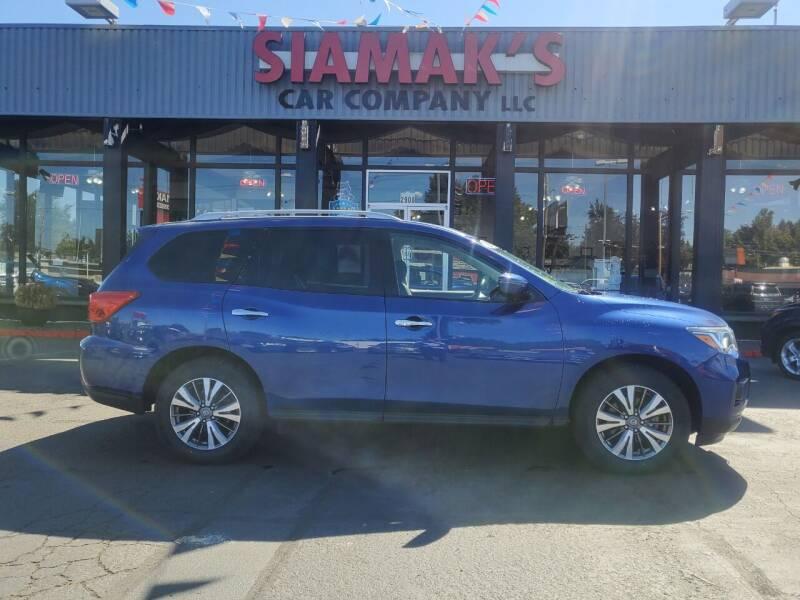 2019 Nissan Pathfinder for sale at Siamak's Car Company llc in Salem OR