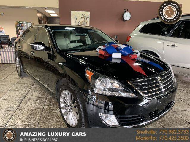 2015 Hyundai Equus for sale at Amazing Luxury Cars in Snellville GA