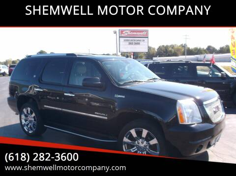 2011 GMC Yukon for sale at SHEMWELL MOTOR COMPANY in Red Bud IL