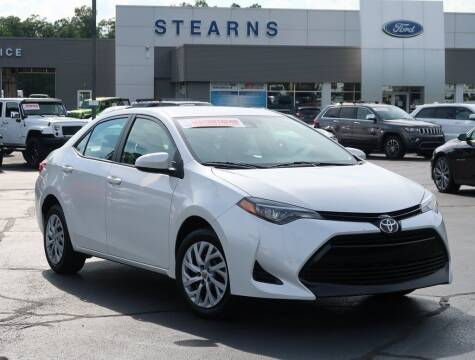 2018 Toyota Corolla for sale at Stearns Ford in Burlington NC