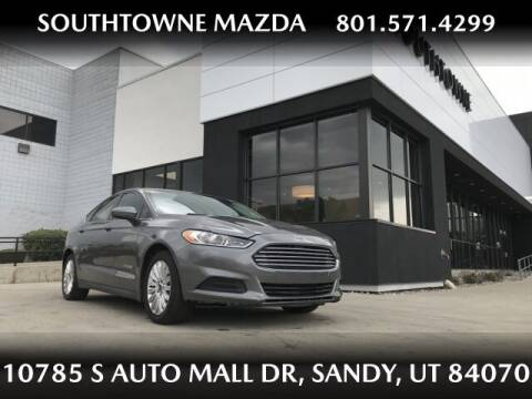 2014 Ford Fusion Hybrid for sale at Southtowne Mazda of Sandy in Sandy UT