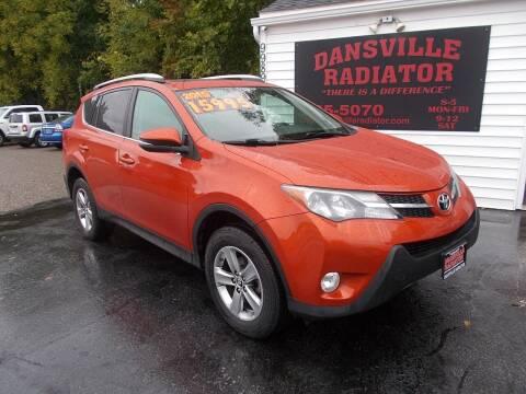 2015 Toyota RAV4 for sale at Dansville Radiator in Dansville NY