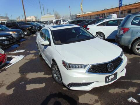 2018 Acura TLX for sale at Avalanche Auto Sales in Denver CO