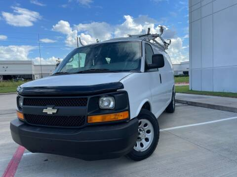 2013 Chevrolet Express Cargo for sale at TWIN CITY MOTORS in Houston TX