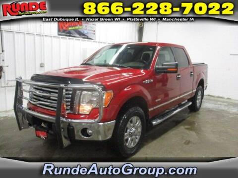 2012 Ford F-150 for sale at Runde Chevrolet in East Dubuque IL