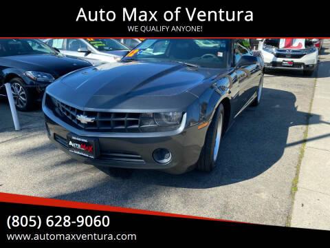 2012 Chevrolet Camaro for sale at Auto Max of Ventura in Ventura CA
