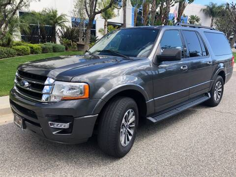 2016 Ford Expedition EL for sale at Donada  Group Inc in Arleta CA