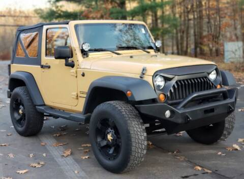 2014 Jeep Wrangler for sale at Flying Wheels in Danville NH