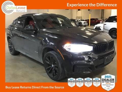 2016 BMW X6 for sale at Dallas Auto Finance in Dallas TX