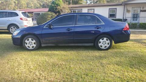 2007 Honda Accord for sale at Joye & Company INC, in Augusta GA