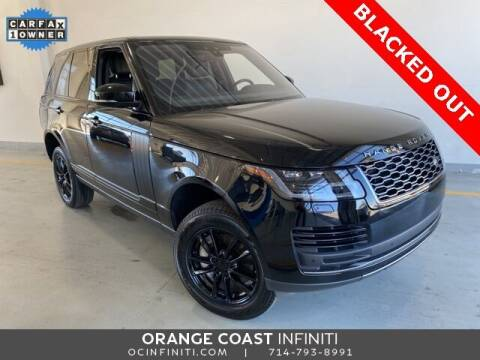 2018 Land Rover Range Rover for sale at ORANGE COAST CARS in Westminster CA