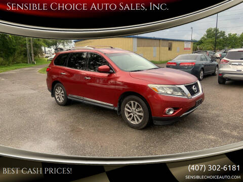 2014 Nissan Pathfinder for sale at Sensible Choice Auto Sales, Inc. in Longwood FL
