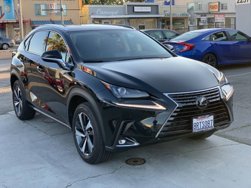 2020 Lexus NX 300 for sale at H & K Auto Sales & Leasing in San Jose CA