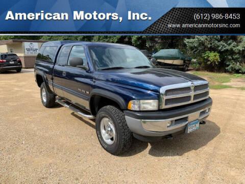 2000 Dodge Ram Pickup 1500 for sale at American Motors, Inc. in Farmington MN