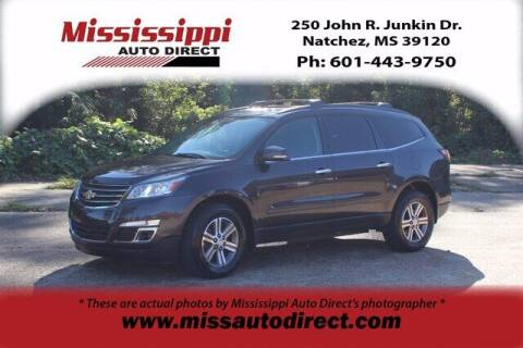 2016 Chevrolet Traverse for sale at Auto Group South - Mississippi Auto Direct in Natchez MS