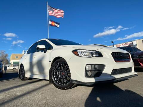 2015 Subaru WRX for sale at New Wave Auto Brokers & Sales in Denver CO