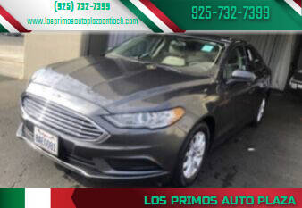 2017 Ford Fusion for sale at Los Primos Auto Plaza in Antioch CA