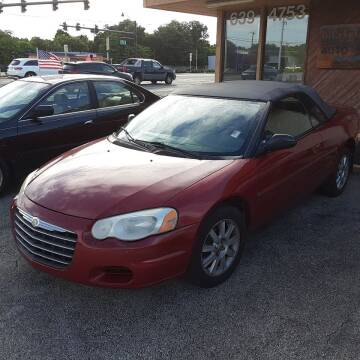 2004 Chrysler Sebring for sale at Easy Credit Auto Sales in Cocoa FL