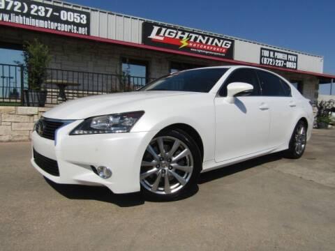 2014 Lexus GS 350 for sale at Lightning Motorsports in Grand Prairie TX
