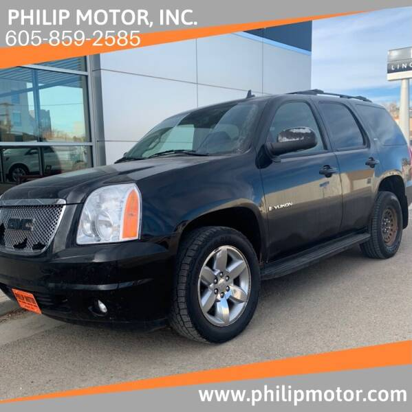 2009 GMC Yukon for sale at Philip Motor Inc in Philip SD