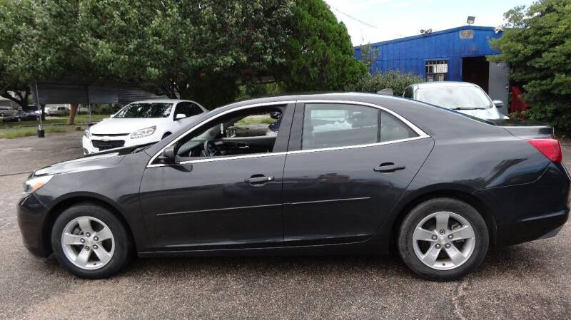2014 Chevrolet Malibu for sale at HOUSTON'S BEST AUTO SALES in Houston TX