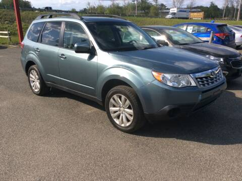 2012 Subaru Forester for sale at Route 102 Auto Sales  and Service in Lee MA