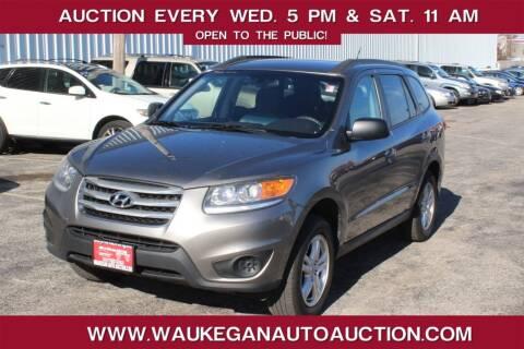 2012 Hyundai Santa Fe for sale at Waukegan Auto Auction in Waukegan IL