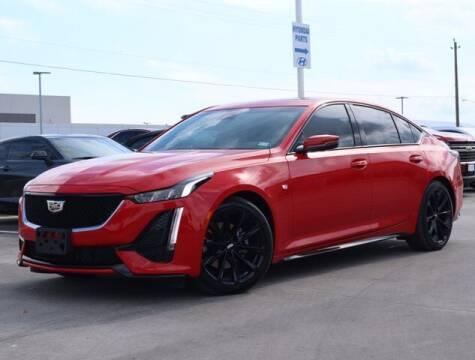 2021 Cadillac CT5 for sale at BIG STAR HYUNDAI in Houston TX
