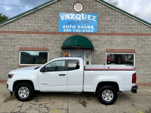 2016 Chevrolet Colorado for sale at VAZQUEZ AUTO SALES in Bloomington IL