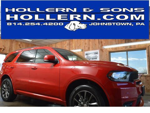 2018 Dodge Durango for sale at Hollern & Sons Auto Sales in Johnstown PA