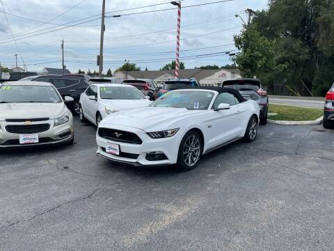 2015 Ford Mustang for sale at Santa Motors Inc in Rochester NY