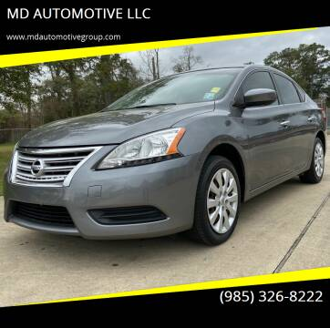 2015 Nissan Sentra for sale at MD AUTOMOTIVE LLC in Slidell LA