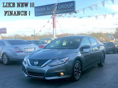 2018 Nissan Altima for sale at Divan Auto Group in Feasterville Trevose PA