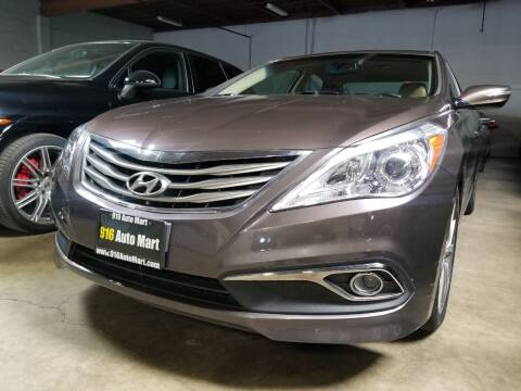 2016 Hyundai Azera for sale at 916 Auto Mart ONLY $399 DOWN!!!* in Sacramento CA