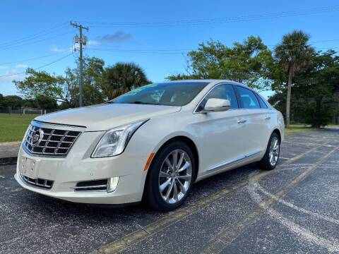 2013 Cadillac XTS for sale at Lamberti Auto Collection in Plantation FL