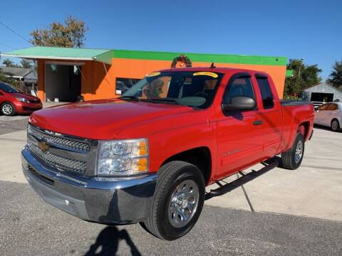 2012 Chevrolet Silverado 1500 for sale at Galaxy Auto Service, Inc. in Orlando FL