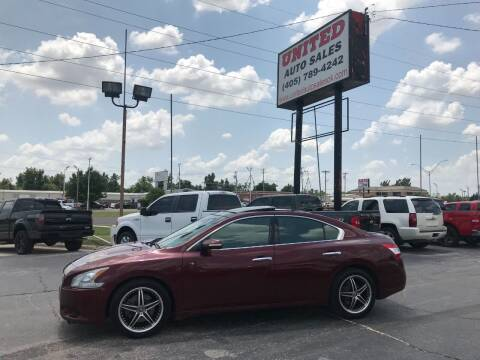 2009 Nissan Maxima for sale at United Auto Sales in Oklahoma City OK