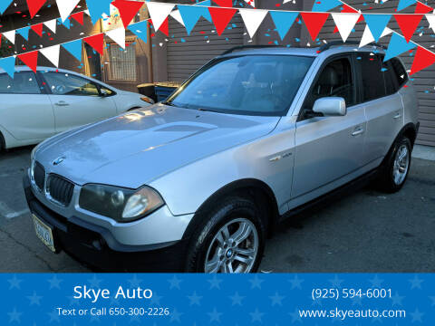 2004 BMW X3 for sale at Skye Auto in Fremont CA