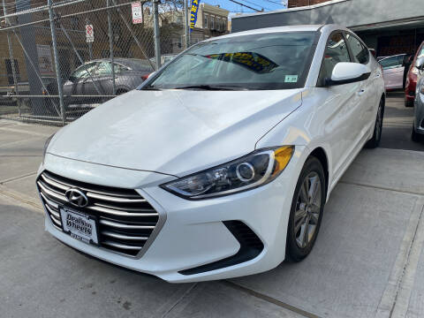 2018 Hyundai Elantra for sale at DEALS ON WHEELS in Newark NJ
