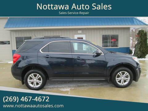 2015 Chevrolet Equinox for sale at Nottawa Auto Sales in Nottawa MI