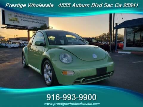 2002 Volkswagen New Beetle for sale at Prestige Wholesale in Sacramento CA