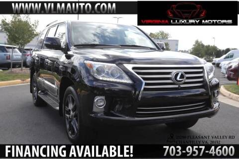 2015 Lexus LX 570 for sale at Used Imports Auto - Virginia Luxury Motors in Chantilly GA