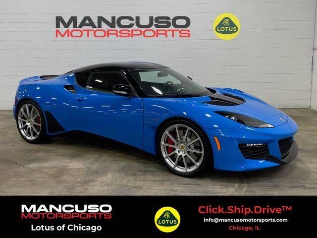 2020 Lotus Evora GT for sale at Mancuso Motorsports in Glenview IL